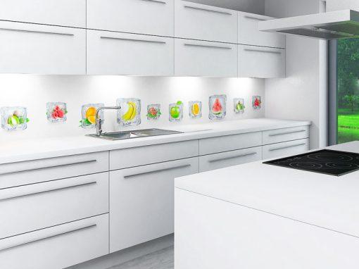Zambala keuken achterwand – bevroren fruit