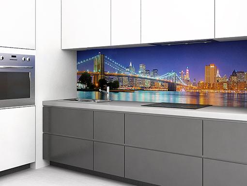 Zambala keuken achterwand Brooklyn Bridge